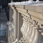 Snowy London by rafstardesigns