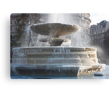 Frozen Fountain Canvas Print