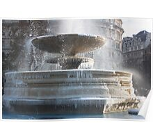 Frozen Fountain Poster