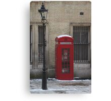 London phone box Canvas Print