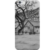 """Peaceful Valley"" - Charcoal/Graphite  iPhone Case/Skin"
