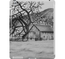 """Peaceful Valley"" - Charcoal/Graphite  iPad Case/Skin"