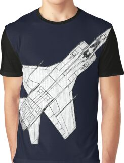 Mig 31 Fighter Aircraft Graphic T-Shirt