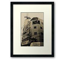 denden town 5 Framed Print