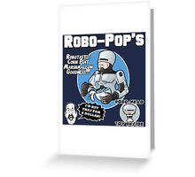 RoboPops Cereal Box Mashup Greeting Card