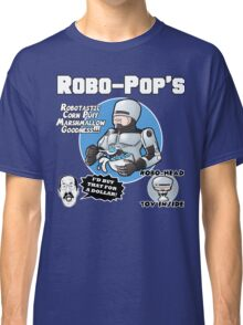 RoboPops Cereal Box Mashup Classic T-Shirt