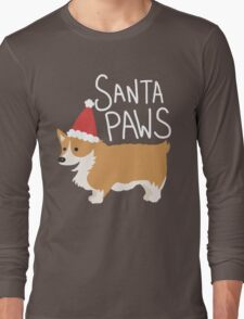Holiday Corgi - Santa Paws - Puppy T-Shirt