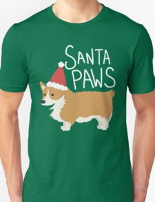 Holiday Corgi - Santa Paws - Puppy T-Shirt