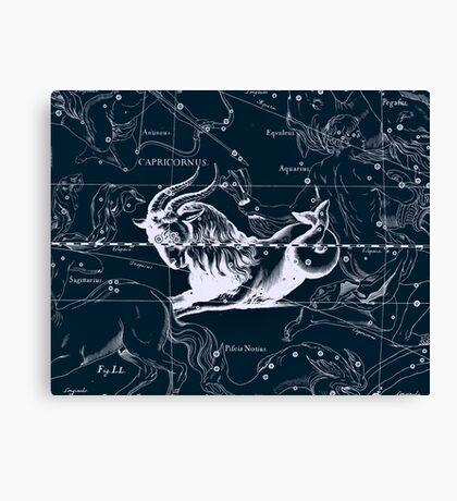 Capricornus Constellation Canvas Print