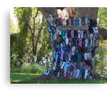 COMMUNITY THONG TREE Canvas Print