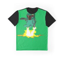 Bulba Fett (Star Wars and Pokemon Parody) Graphic T-Shirt