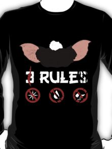 Just 3 Rules T-Shirt