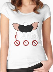 Just 3 Rules Women's Fitted Scoop T-Shirt