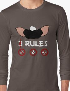 Just 3 Rules Long Sleeve T-Shirt