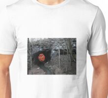 """""""Apparition of the Holy Seed at the Grotto of the Healing Waters"""" Third sighting. Unisex T-Shirt"""
