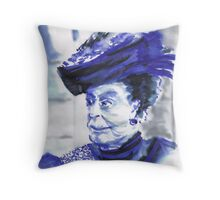 Lady Violet the Dowager Throw Pillow