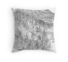 Harrison Springs BC Throw Pillow