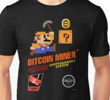 Bitcoin Geek Nintendo Gaming Funny Mario Mashup  Unisex T-Shirt