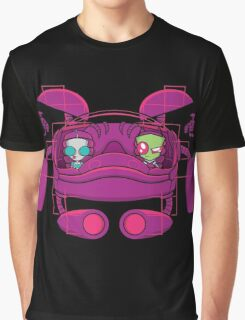Space Zimvader Graphic T-Shirt