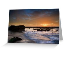 Boxing Day Sunrise Greeting Card