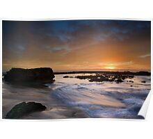Boxing Day Sunrise Poster