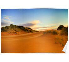 Balmedie Beach Poster