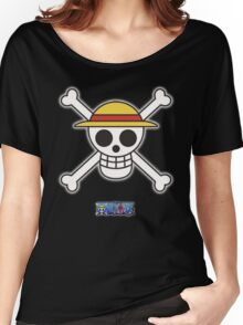 One Piece Rufy 's flag Women's Relaxed Fit T-Shirt