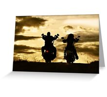 Sunset Roll Greeting Card