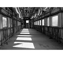 Gutted Railcar Photographic Print