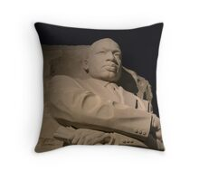 MLK memorial Washington, DC Throw Pillow