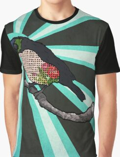 Floral Birdy Graphic T-Shirt