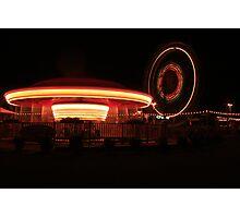 Lights at Night Photographic Print