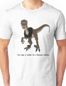 Dinosaur Scientist Unisex T-Shirt