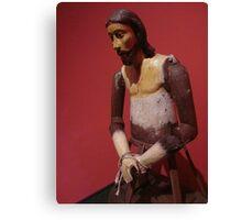 Toy Jesus Canvas Print