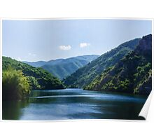 Summer Sunshine and a Gentle Breeze - Mountain Lake Impression Poster