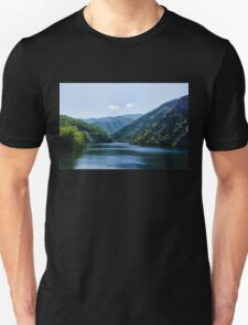 Summer Sunshine and a Gentle Breeze - Mountain Lake Impression T-Shirt