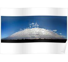 Alto Cumulus Opacus cloud Poster