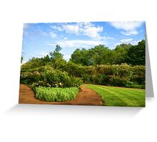 Impressions of London – Gardens at St James's Royal Park Greeting Card