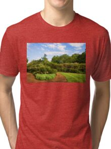 Impressions of London – Gardens at St James's Royal Park Tri-blend T-Shirt