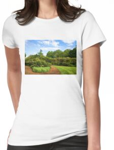 Impressions of London – Gardens at St James's Royal Park Womens Fitted T-Shirt