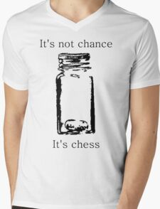 It's Not Cance, It's Chess Mens V-Neck T-Shirt