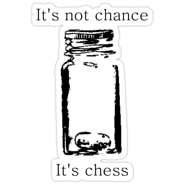 It's Not Cance, It's Chess by Margaret Wickless