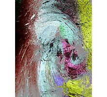 ancient evolving event..... strata paintings Photographic Print