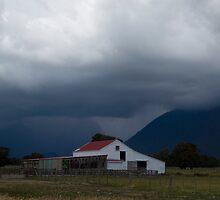 Fox Glacier Storm by Paul Davis