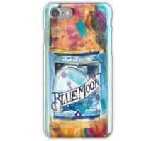 BLUE MOON Brewing Co iPhone Case/Skin