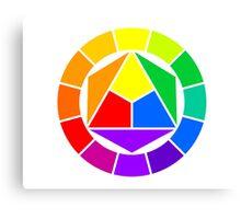 Color circle Canvas Print
