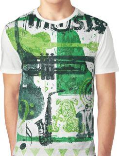 Music Jam Graphic T-Shirt