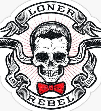 The Rebel Rider Sticker
