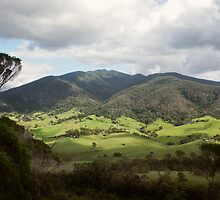Tilba Valley & Gulaga (Mount Dromadery) by pcbermagui