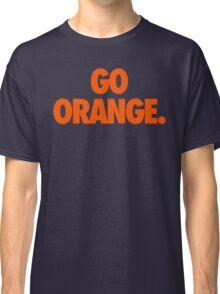 GO ORANGE. Classic T-Shirt